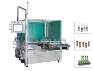 Vial Labeling Machine (with Turn-table) /Labeler pictures & photos