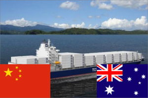 Ocean Shipment Handle From China to Australia