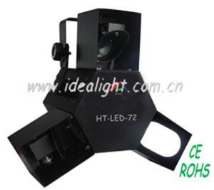 72PCS 5mm LED Three Eyes Effect Light