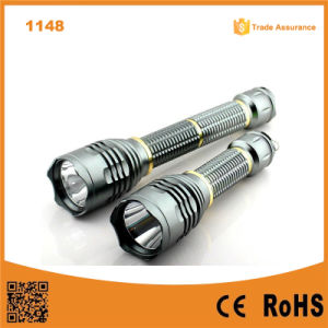 10W Xml T6 LED Light High Power Aluminum LED Torch pictures & photos