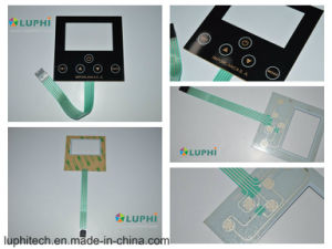 Silver Contact Points No Touch Feeling Flat Membrane Switch (MIC-0178) pictures & photos