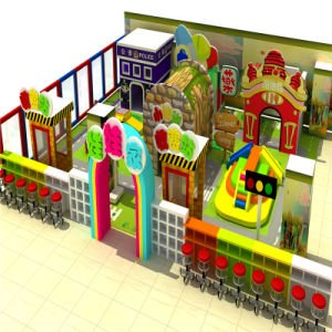 Candy Theme Funny Indoor Soft Playground for Shool pictures & photos