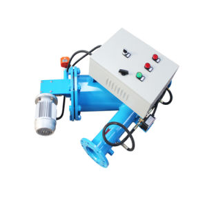 100/200 Micron Coarse Filtration Auto Cleaning Brush Type Water Filter pictures & photos