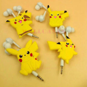 Pikachu Retractable 3.5mm Universal Earphone/Headphone for Samsung & iPhone