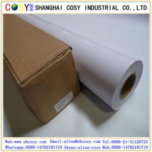 White Vinyl PVC Self Adhesive Vinyl for Digital Printing pictures & photos