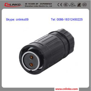 Cnlinko Waterproof IP67 2pin Power Connector/Connector Pins pictures & photos
