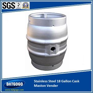 Stainless Steel 9 Gallon Cask Praised by Green King pictures & photos