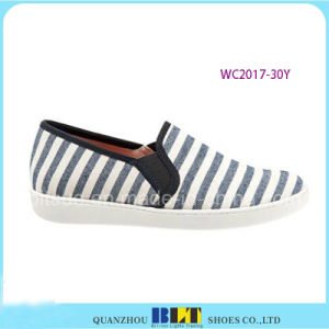 Fashion Design Canvas Shoes with Zebra Printed pictures & photos
