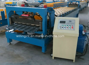 Colorful Steel Step Tile Roof Sheet Making Forming Machine pictures & photos
