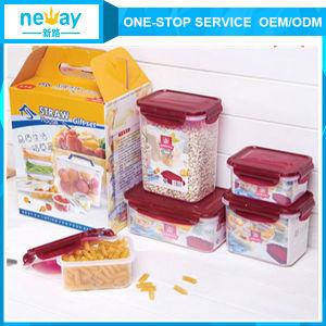 Neway 5 Pieces Plastic Jar pictures & photos