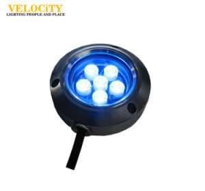 12V/24V 5W Color Changing IP68 LED Underwater Light for Boat pictures & photos