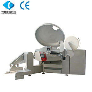Ce Approved High Quality Vacuum Bowl Cutter Meat Cutting Machine pictures & photos