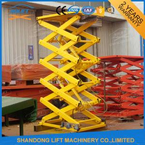 Warehouse Hydraulic Scissor Lift Rental pictures & photos