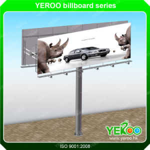 Unipole Fashion Double Side Street Billboard Outdoor Advertising Display pictures & photos