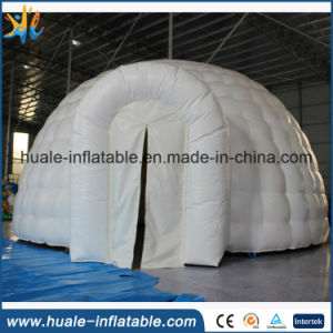 Customizable White PVC Inflatable Dome Tent for Outdoor Advertising Event