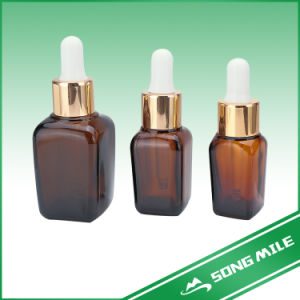 ISO High Quanlity Square Oil Bottle of Cosmetic pictures & photos