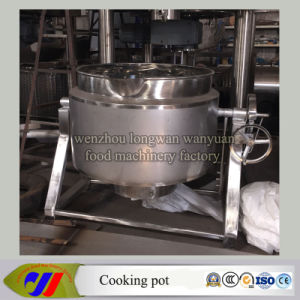 Ease of Use Can Be Tilted Gas Heating Cooker pictures & photos
