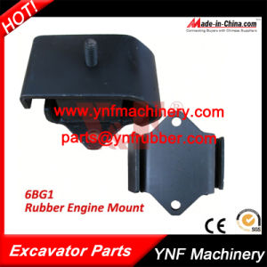 Excavator Parts 6bg1 Rubber Engine Mount pictures & photos