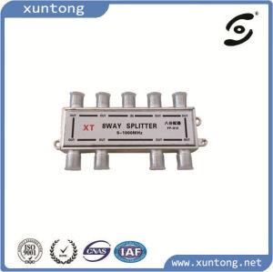8 Way Splitter 5-1000MHz CATV Splitter pictures & photos