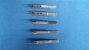 Serrated Forceps Blepharoplasty Tweezer Set pictures & photos
