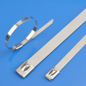 Coated Stainless Steel Cable Tie pictures & photos