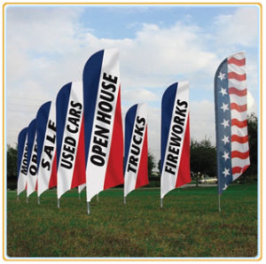 Outdoor Banner Display Flagpole (4.5m) pictures & photos