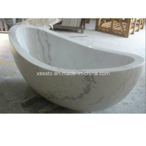 Bathroom Furniture Stone Tub Portable Bathtub for SPA pictures & photos
