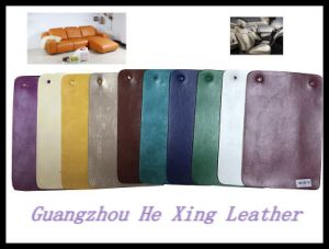 Anti-Hydrolysis PVC Sofa Leather, furniture Leather for Car Seat Cover pictures & photos