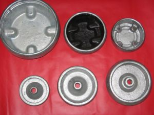 Insulator Fittings - Post Flange and Base pictures & photos