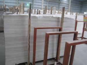 White Wood Marble for Flooring Tile Slab pictures & photos