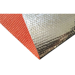 Glass Fiber Aluminum Foil Fabric pictures & photos