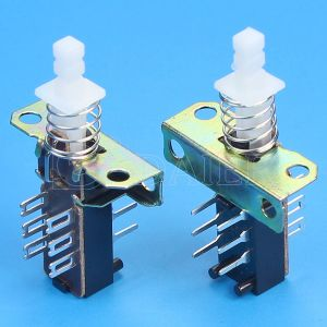 6 Pin Mechanical Spring Push Buttons Switch (KZJ2*2-1J-A) pictures & photos