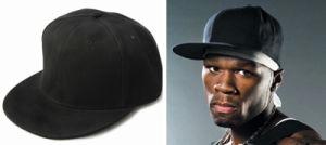 Adult Plain Fashion Snapback Hiphop Cap