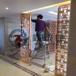 China Factory of High-Grade Decorative Office Partition Screen. Allow Customized Design pictures & photos