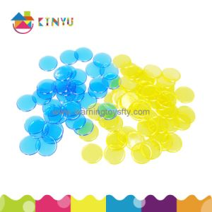 Plastic Counting Chips Toy for Kindergarten Students (K025) pictures & photos