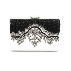 Brand Women Handbag Party Bag Beaded Box Lady Clutch Bag pictures & photos
