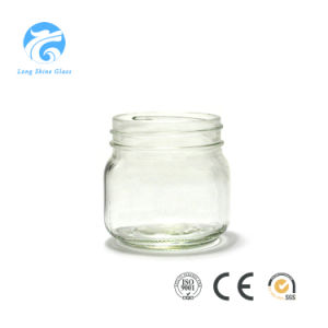 Customized Food Storage Glass Mason Jar Glass Container with Metal Lid pictures & photos