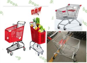 New Supermarket Shopping Trolley pictures & photos