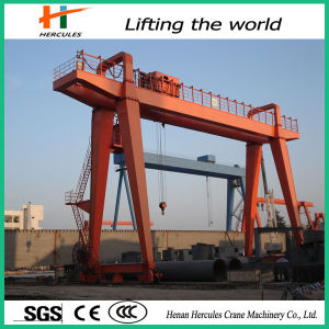 Best Quality Single Girder Gantry Crane in L Type pictures & photos
