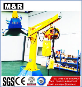 Hot Sales Mobile Jib Crane with 270 Degree pictures & photos