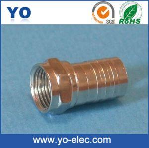 Long Barrel Crimp F Connector (YO 2-010A)