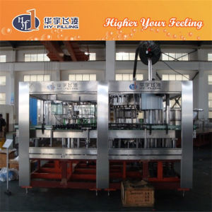 Hy-Filling Glass Bottle Beer Bottling Machine Zhangjiagang City pictures & photos