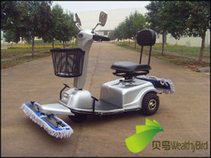 2015 CE Cleaning Scooter with Mop--Rps310c pictures & photos