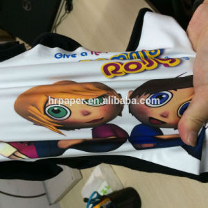 Light T Shirt Heat Transfer Paper Cotton Sublimation Paper