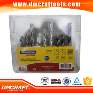 9PCS Combination HSS, Masonry, Wood Drill Bits Set pictures & photos