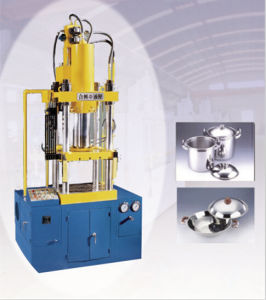 Four Columns Hydraulic Press Machine for Stainless Steel Product pictures & photos