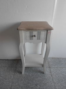 1 Striated Drawer Side Table (FCJ03976)