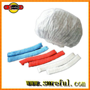 Colorful 18′′ 19′′ 20′′ 21′′ PP Non Woven Round Mop Mob Bouffant Disposable Cap pictures & photos