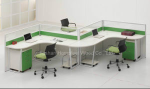 Modern Curved Office Workstation Partition (HF-LT033A) pictures & photos