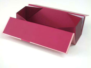 Custom Cardboard Wine Gift Paper Box pictures & photos